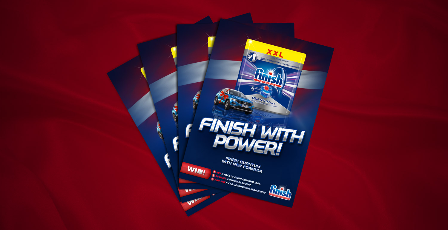 """Flayer & Poster – """"Finish"""" Offer"""